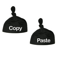 Baby Newborn TWINS Knotted Hat SET of 2 Infant Apparel  Copy Paste