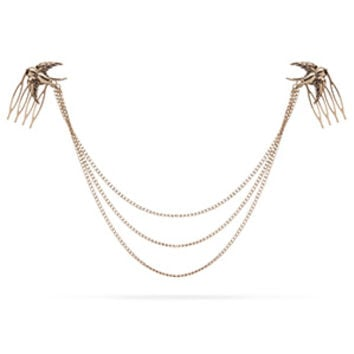 Egyptian Style Hair Chain - Bird