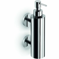LB Duemila Wall Pump Soap Lotion Dispenser 220ml / 7.4 oz Kitchen Bath Chrome