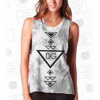 DG Marble Muscle Tank