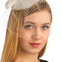 Old Hollywood Style Fascinator | Mod Retro Vintage Hair Accessories | ModCloth.com
