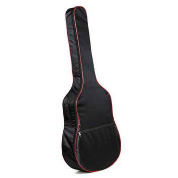 41 Inch Oxford Cloth Bass Guitar Carry Cover Ukulele Case Box Guitar Bag with Shoulder Straps For Music Instruments Parts