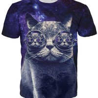 Hipster Cat T-Shirt *Ready to Ship*