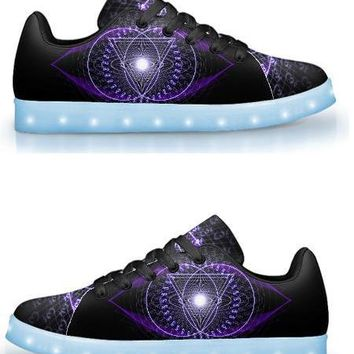 Ajna by Sam and Cate Farrand - APP Controlled Low Top LED Shoe