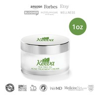 1oz of Keeva's ORIGINAL Tea Tree Oil Acne Treatment ON SALE TODAY!