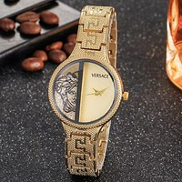 Perfect Versace Men Fashion Quartz Watches Wrist Watch