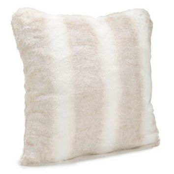 Iced Mink Faux Fur Pillows by Fabulous Furs
