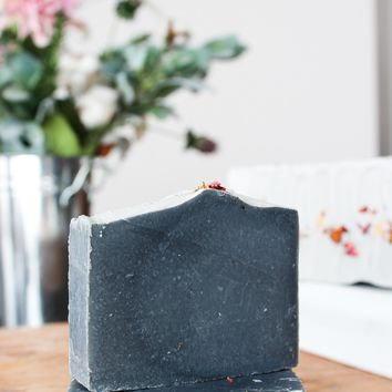 Winter Rose - Handcrafted Soap Bar