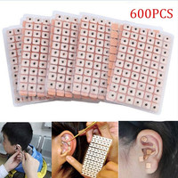 2017 600pcs/3000pcs Acupuncture Needle Ear Seeds Massage Paste Ears Stickers Auricular Vaccaria Press Seed
