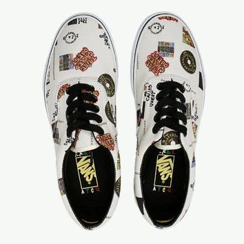 VANS A Tribe Called Quest Print Letters Photo Shoes B-CSXY