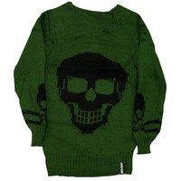 Oversized Knitted Skull