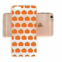 Cute Pumpkin Pattern Halloween Slim Iphone 6 6s Case, Clear Iphone Hard Cover Case For Apple Iphone 6 6s Emerishop (iphone 6)