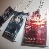 Clockwork Angel Clockwork Prince Clockwork by CarasBookishCharms
