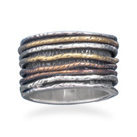 Oxidized Ring with Tri Tone Bands