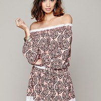 Free People Sunday Romance Off-The-Shoulder Dress