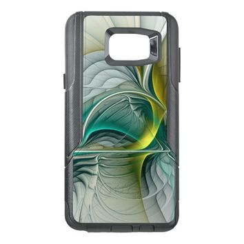 Fractal Evolution, abstract Art OtterBox Samsung Note 5 Case