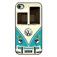 Light Blue VW Case - IPhone 4s Case - IPhone 4 Case
