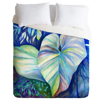 Rosie Brown Summertime Blues Duvet Cover