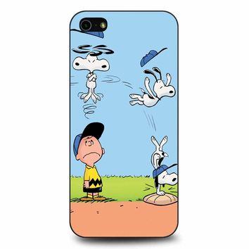 The Peanuts Movie Snoopy iPhone 5/5s/SE Case