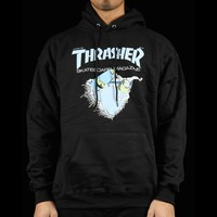 Thrasher First Cover Hoodie Apparel Sweaters - Sweatshirts at Premier