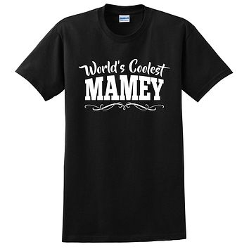 World's coolest mamey Mother's day birthday gift ideas for new grandma proud grandmom gifts for her T Shirt