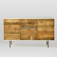 Reclaimed Wood + Lacquer Buffet
