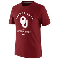 Nike Oklahoma Sooners Fight Song T-Shirt - Crimson