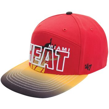Miami Heat - Logo Glowdown Snapback Cap