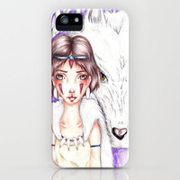 Forest Spirits iPhone Case by Krista Rae | Society6