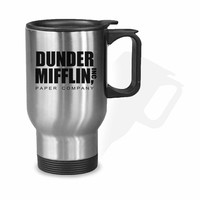 Dunder Mifflin Paper Company Stainless Mug