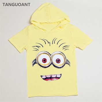 TANGUOANT Hot Sale popular cartoon boys t shirt girls nova t-shirts kids short sleeve t shirts child Spring hoodies Tops & Tees