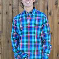 Southern Tide Cavalier Sport Shirt- Rushing Water