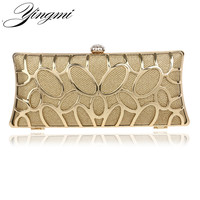 New arrival metal clutch purse bag mixed color rhinestones women handbags with chain shoulder bags