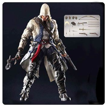Assassin's Creed 3 Connor Kenway Play Arts Kai Action Figure - Square-Enix - Assassins Creed - Action Figures at Entertainment Earth