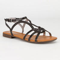 Report Gilly Womens Sandals Black  In Sizes