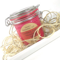 Cranberry Apple Marmalade scented Soy Candle - Handmade Soy Candle -- 9 ounce Jar
