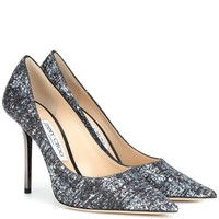 Love 100 glitter pumps