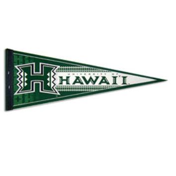UNIVERSITY OF HAWAII H LOGO PENNANT