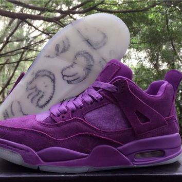 Air Jordan 4 Retro Kaws Basketball Shoes Us4y 7y | Best Deal Online