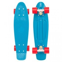 "Penny Skateboards USA Penny Original 22"" Cyan Red - PENNY ORIGINAL 22"" - SHOP ONLINE"