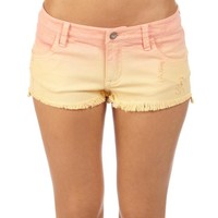 "Ladies Suntoucher Dippers 1.5"" Denim Short"