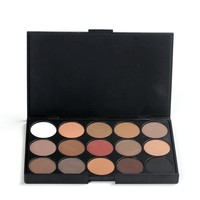 2015 New fashion 15 Earth Color Matte Pigment Eyeshadow Palette Cosmetic Makeup Eye Shadow for women [7943051271]