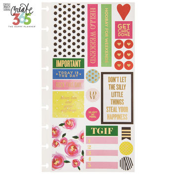 Make It Happen Create 365 Happy Planner Stickers | Hobby Lobby | 1422963