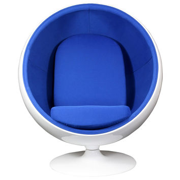 Kaddur Lounge Chair Blue