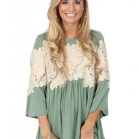 Better With You Top In Sage | Monday Dress Boutique