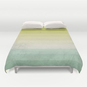 lime and lemon Duvet Cover by Xiari