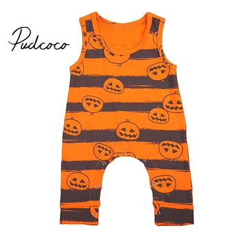 Hot Halloween Infant Baby Boy Girl Romper  New Arrival Summer Jumpsuit Outfits Playsuit