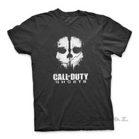 Call of Duty Ghost Video Games Activision War shirt t-shirt