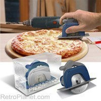Table Saw Pizza Cutter Pizza Pro 3000 RetroPlanet.com