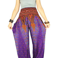 Elephant pants Palazzo pants Thai pants Hippie clothes Hippie pants Gypsy pants  Harem pants Elephant clothes